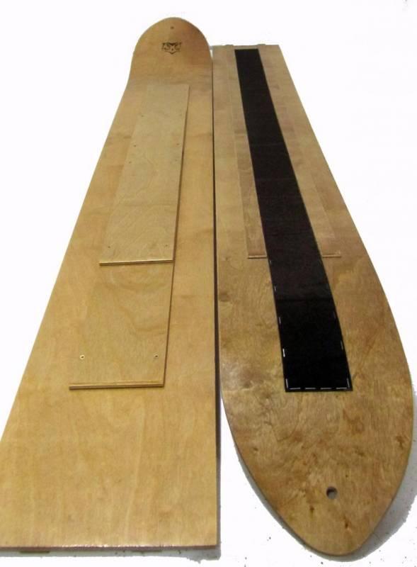 Лыжи охотничьи с камусом Зима 1500*200
